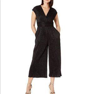 Maggie London metallic mini pleats jumpsuit 12